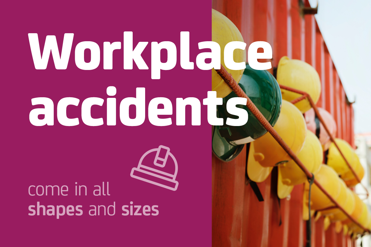Workplace accidents come in all shapes and sizes, as does financial compensation for victims.