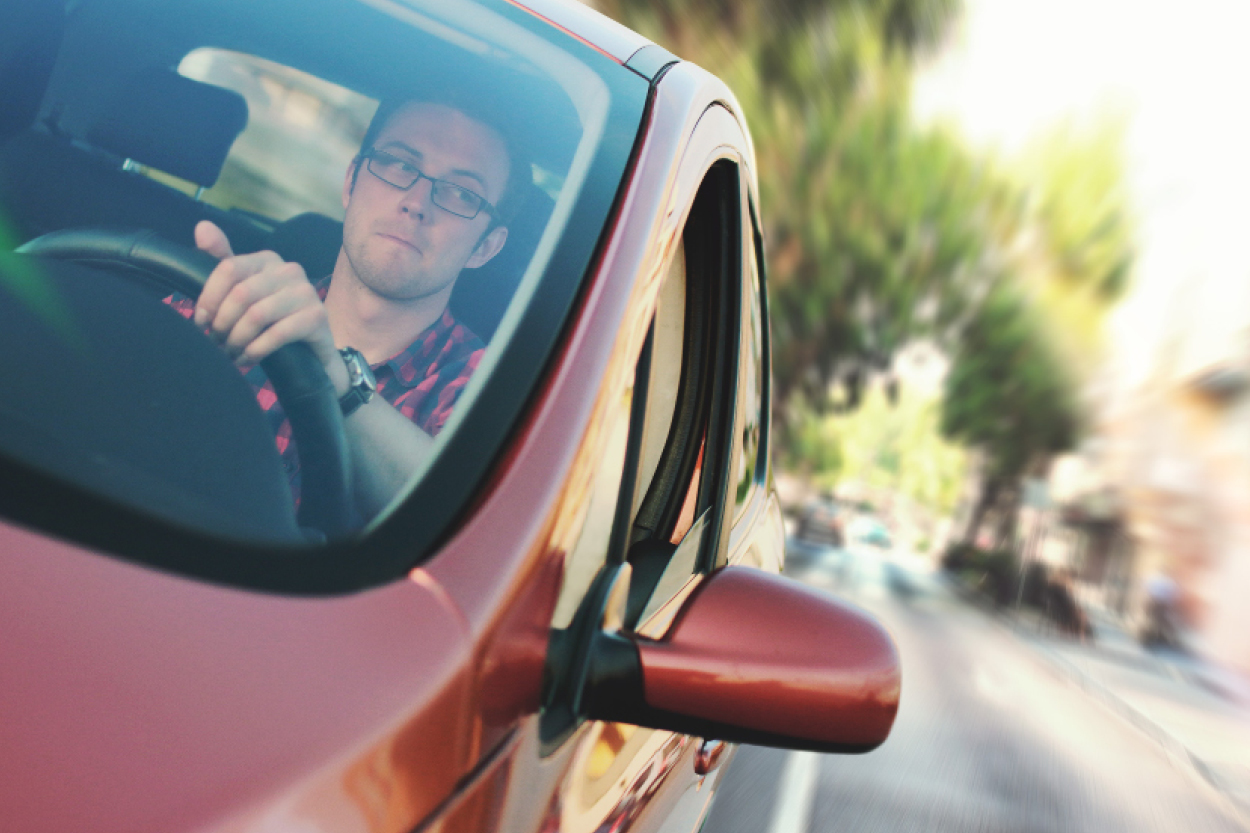 Driver error the cause of more road traffic accidents than any other factor.